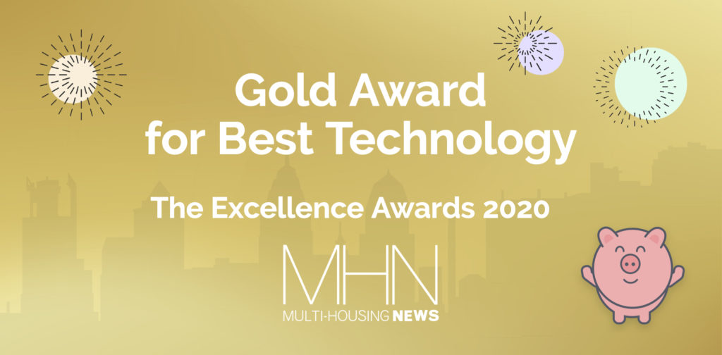Obligo Wins The Multi-Housing News Gold Award for Best Technology